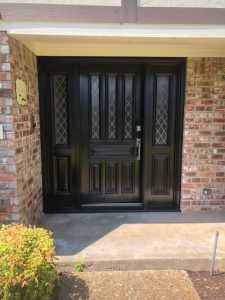 Exterior Door Staining & Painting