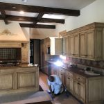 Cabinet refinishing in Allen, Texas