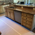 Cabinet Staining and refinishing in Frisco Texas