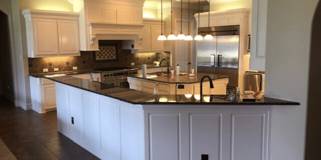 Kitchen cabinet painting service